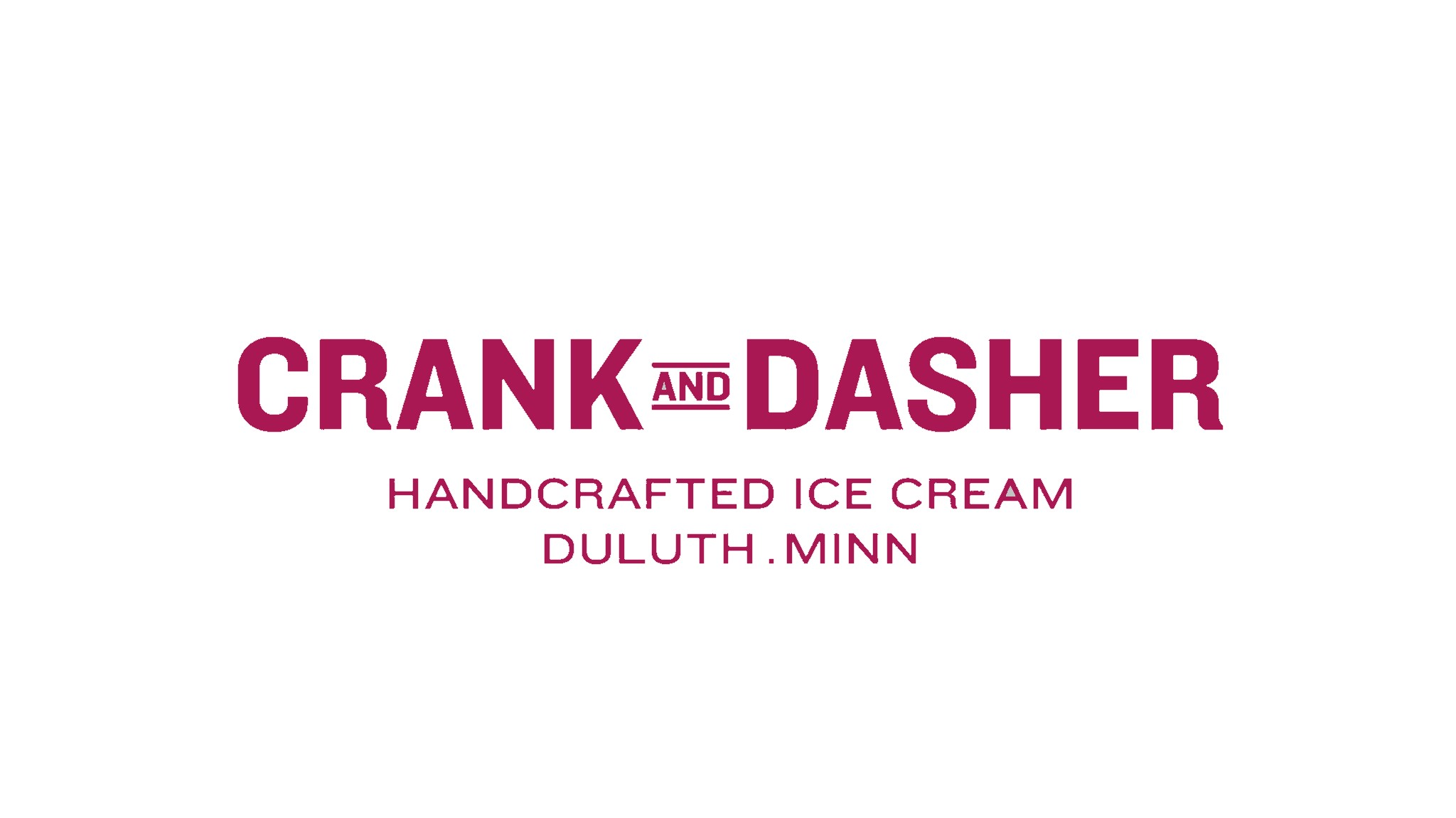 Crank and Dasher Logo-White BG